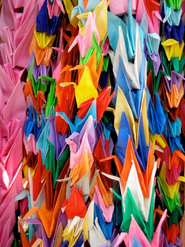 Hiroshima cranes, 2008